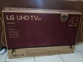 Tv LG 43in smart tv hrga 4,35jt mulus (43UK65)