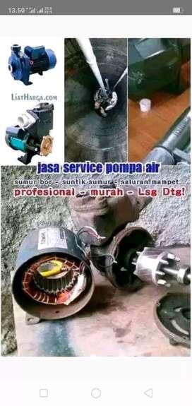 Jasa servis pompa air jujur dan berpengalaman .