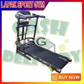 Alat Olahraga Fitness Treadmill Elektrik TL 246 Watt Rendah