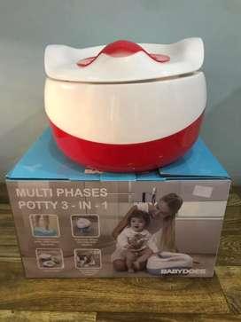 Potty/ toilet trainning 3 in 1 merk babydoes