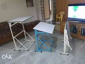 Foldable drawing cum study table cum laptop table