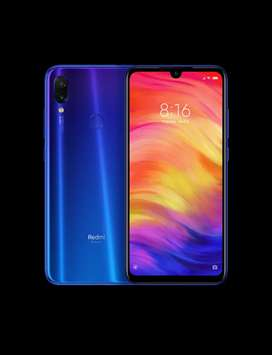 Mi note 7 pro. Blue 4 GB ram & 64 gb storage