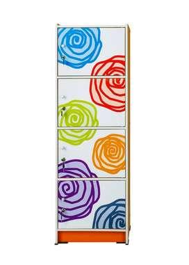 Lemari Serba Guna 4 Pintu Activ Rose Flower LSG 4