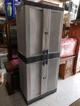 lemari plastik jumbo ukuran -+ 75x47x180