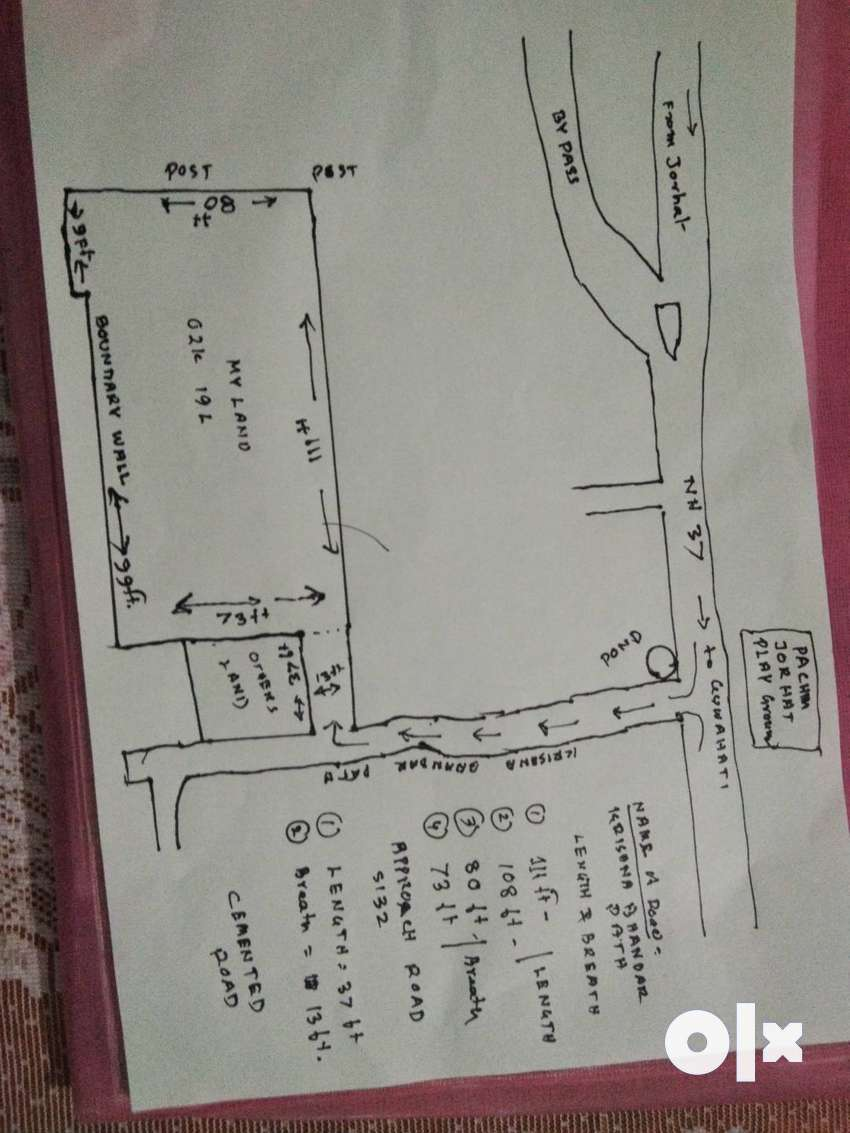 Property (land) for sale at Jorhat 0