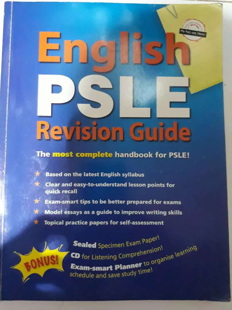 English  PSLE Revision Guide 0