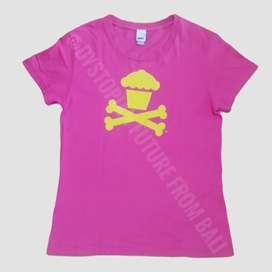 T-shirt Johnny Cupcakes - Crossbones