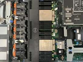 Server Dell R620 Xeon E5 2650v2x2 16core 32T 32gb 600GB Free Ongkir