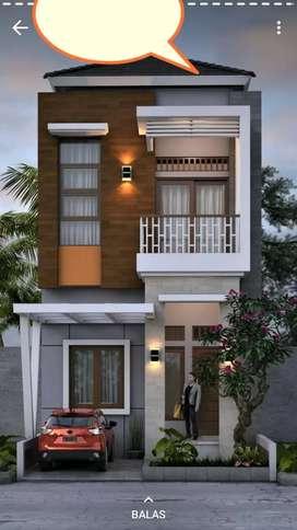 Rumah baru mewah design elit dkt Citra land jual murah