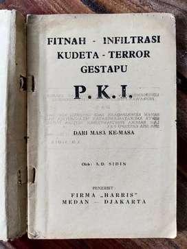 Buku Antik Fitnah Infiltrasi Kudeta Terror Gestapu PKI