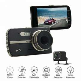 DUAL 2 IN 1 ALL CAR DASH CAM FRONT BACK BIG DISPLAY CAMERA FHD VIDEO