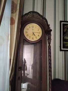 Jual jam kayu jati asli jepara
