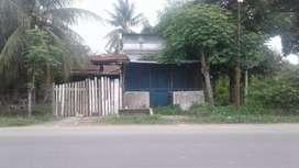 Jual Rumah Bentuk Toko, Cocok Untuk Usaha di depan jl.Medan B.Aceh