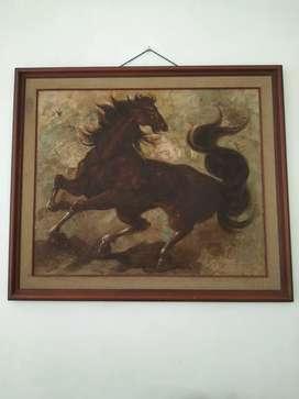 Lukisan kuda Antik