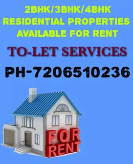 2BHK/3BHK FOR RENT