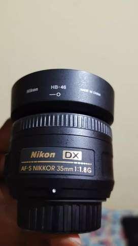 good condition nikkor AF S 35mm