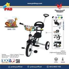 Sepeda PMB roda tiga nikel 721