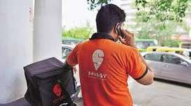 Wanted Delivery Executive For SWIGGY - Free Joining