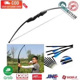 36215 Busur Panah Powerful Recurve Archery Bow 40 LBS