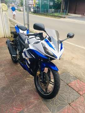 R15 v2 with good condition on perfect engine side