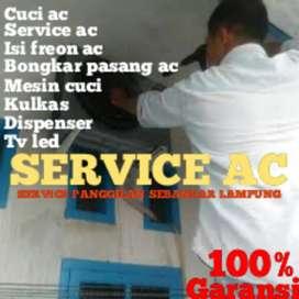 Service ac bongkar pasang isi freon mesin cuci ac servis kulkas tv led