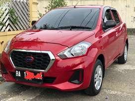 Datsun go 2018 merah merona