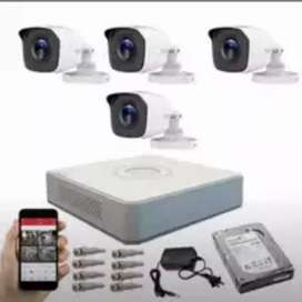 Paket Kamera CCTV Murah Berikut Pasang Dan Setting ke HP