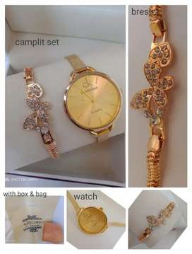 Ck gift set With Watch