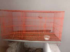 Folding iron cage for sale