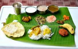 WANTED SOUTH INDIAN TIFFEN& LUNCH MASTER & FRIED RICE & PROTTA MASTER