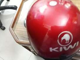 Ladies red helmet