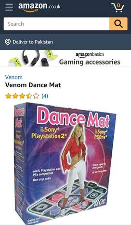 UK imported Venom Dance dancing Mat music mat PlayStation Xbox PS4 PS2