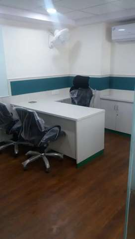 Fully Furnished Office 4000 sqft.Location C- Scheme.Available On Lease