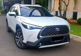 Toyota Corolla Cross Hybrid 2020 Putih Km 7rb LIKE NEW
