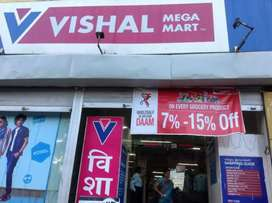 Shopping mall job for freshers 8th to graduate passed