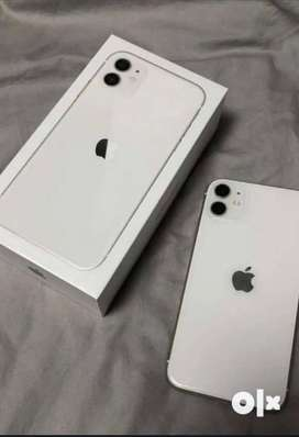 Iphone 11 128 GB white colour indian bill purschased