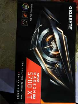 Gigabyte Windfroce 5700Xt Oc Complete Box like new