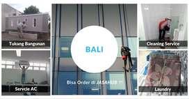 Jasa Cleaning, Laundry, Tukang, Fogging Nyamuk, Service TV di Bali