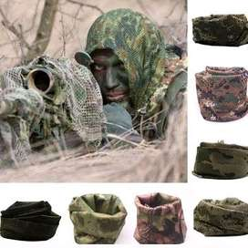 Net Mesh Tactical Camouflage Scarf Veil - OLX Lampung Geh