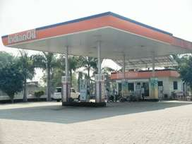 Indianoil petrol pump for sell