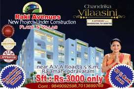 2bhk&3bhk are available with 90% loan