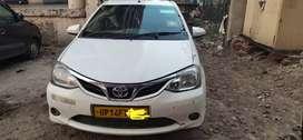 Toyota Etios G Petrol CNG