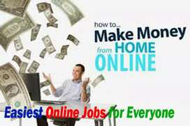 work from home for housewife, students, retired person, anyone