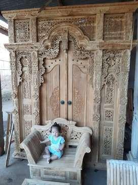 agus kusen pintu gebyok gapuro jendela rumah masjid musholla jati