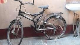 X sport double shoker bicycle.