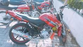 Yamaha YBR 125 Rawalpindi registered