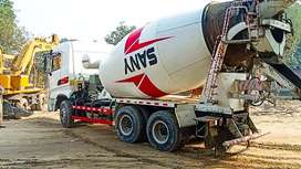 Mixer Truck 2017 on Easy EMI process 20%D.P One Step Solution Pvt.Ltd