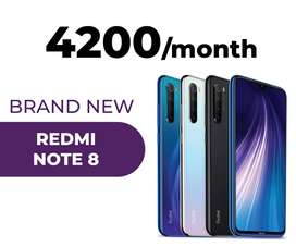 Redme note 8 on easy installments