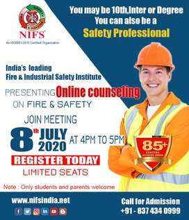 NIFS is organizing Online Counselling for Fire and Industrial Safety