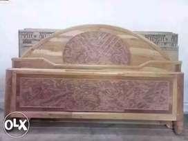 New 6-7 Mahogany-Shagun mixed box bed